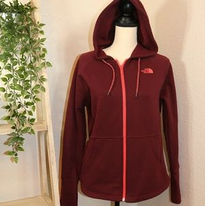 The North Face hoodie jacket